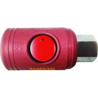 ヤマトエンジニアリング ヤマト ボタン式カップリングソケット BLB22-SF-P 1個 102-6044 (直送品)
