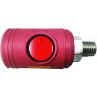 ヤマトエンジニアリング ヤマト ボタン式カップリングソケット BLB22-SM-P 1個 102-6042 (直送品)