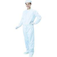 ブラストン(BLASTON) ブラストン 防塵ジャケット(立衿)ー白ーLサイズ BSC-42001-W-L 1着 115-8264 (直送品)