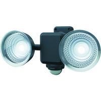ムサシ ダンケ 1.3W×2灯 フリーアーム式LED乾電池センサーライト E42225 1台 123-0086(直送品)