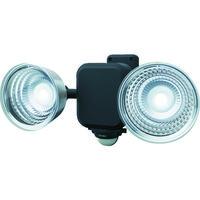 ムサシ ダンケ 3.5W×2灯 フリーアーム式LED乾電池センサーライト E42265 1台 123-0083(直送品)
