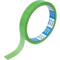 ニトムズ(nitoms) ニトムズ PEクロステープ 15mmx10m 緑 J6812 1巻 114-4716 (直送品)