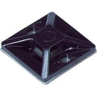 3M 結束バンド用固定具 屋外用 超強力粘着多用途テープ付 X 19mm 10個入り MTO 20 EX 10/P 116-4785(直送品)
