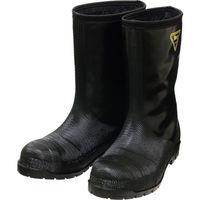 シバタ工業(SHIBATA) SHIBATA 冷蔵庫用長靴ー40℃ NR041 27.0 ブラック NR041-27.0 1足 114-2718(直送品)