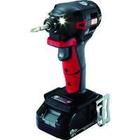 マックス(MAX) MAX 18V充電インパクトドライバセット(アカ)2.5Ah PJ-ID152R-B2C/1825A 1台 114-5075(直送品)
