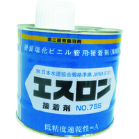 積水化学工業(セキスイ化学) エスロン 接着剤 NO.75S 500G S755G 1缶(500g) 108-0364(直送品)