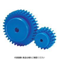 協育歯車工業 KG フードコンタクト 青POM ギヤシリーズ 平歯車 歯数24 形状B1 S2.5BP24B-2512 1個 116-0970(直送品)
