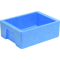 サンコー 発泡素材コンテナー 760338 EPボックス#16-2(本体)ブルー SK-EP16-2 BL 115-5352(直送品)
