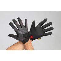エスコ(esco) [LL] 手袋・メカニック(合成革/黒) 1セット(2双) EA353BT-204(直送品)