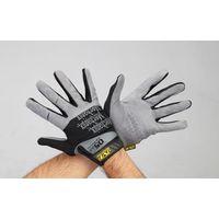 エスコ(esco) [LL] 手袋・メカニック(合成革/黒) 1セット(2双) EA353BT-214(直送品)