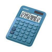 エスコ(esco) 12桁パーソナル計算機(ブルー) 1セット(3個) EA761GA-18A(直送品)
