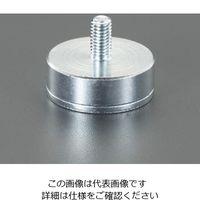 エスコ(esco) φ40x 8mm/410N 強力マグネット 1セット(3個) EA781EW-7(直送品)