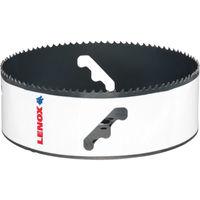 レノックス(LENOX) LENOX スピードスロット 分離式 バイメタルホールソー 152mm 5121751 1本 106-3037(直送品)