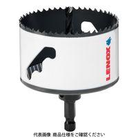 レノックス(LENOX) LENOX スピードスロット 軸付 バイメタルホールソー 92mm 5121043 1本 106-1474(直送品)