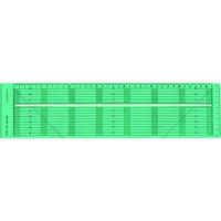 クロバー(CLOVER) クロバー テープカット定規 57-924 1個 114-9485(直送品)