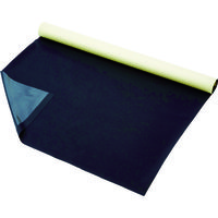TRUSCO プロテクトシート テープ付 黒 1500X1M 5枚入 紙管1本巻 U1-1500-BK 114-5772(直送品)
