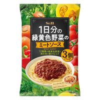エスビー食品 S&B 1日分の緑黄色野菜のミートソース(3個パック) 1袋
