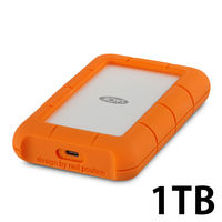 LaCie Rugged USB3.1 Type-C 1TB 2EUAP8 1個(直送品)