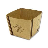 天満紙器 BT57 クラフトキューブ ティータイム 004469070 1セット(50枚入×40袋 合計2000枚)(直送品)