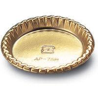 木村アルミ箔 金トレー AP-78M 004739300 1セット(100枚入×5袋)(直送品)
