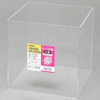 アクリルディスプレイ サイコロ型4面200X200 007306211 1セット(4個)(直送品)