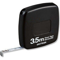 クツワ MJ002BK 超薄型メジャーBKスチール3.5m 007505222 1セット(120個) (直送品)