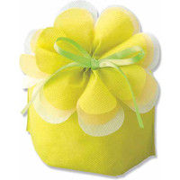 エーワン LP070ブルーミング巾着 小 マスカットグリーン 008705194 1セット(10枚入×40)(直送品)