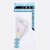 パルカラーネオ 10cm三角定規 PT-N4 10組 西敬(直送品)