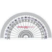 パルカラー分度器 PP-12 10枚 西敬(直送品)