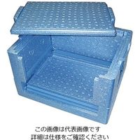 JSP(ジェイエスピー) 折り畳みP-ボックスFX 37L FX35 1個 2-1630-12 (直送品)
