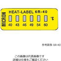 ミクロン ヒートラベル(不可逆性) 6R-177V 1箱(10枚) 3-8756-08 (直送品)