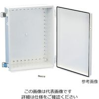 タカチ電機工業(TAKACHI) 防水・防塵開閉式プラボックス(BCAP型) BCAP282813G 1個 3-983-29 (直送品)