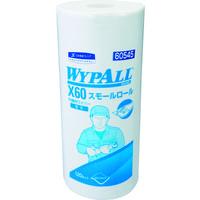 日本製紙クレシア クレシア ワイプオールX60 スモールロール 60545 1巻 102-8415 (直送品)