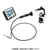 シンワ測定(シンワ) モニタリングスコープ A φ5.8 ワイヤレス3.5インチ液晶 防水 LEDライト付き5段階ズーム外部接続可 74172(直送品)