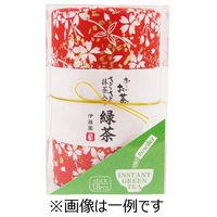 伊藤園 和紙缶りお~いお茶 さらさら緑茶 スティックタイプ 1箱 18本