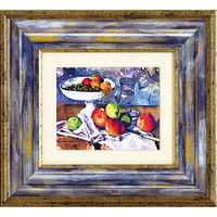 ユーパワー セザンヌ「グラスと果物とナイフのある静物」 MW-05036(直送品)