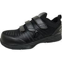 安全靴/セーフティシューズ ピーク PEAK SAFETY WOK-4506 ブラック 27.5cm(直送品)