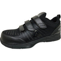 安全靴/セーフティシューズ ピーク PEAK SAFETY WOK-4506 ブラック 28.0cm(直送品)