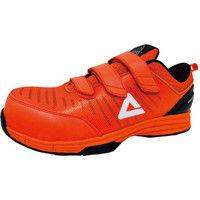 安全靴/セーフティシューズ ピーク PEAK SAFETY WOK-4506 オレンジ 26.0cm(直送品)