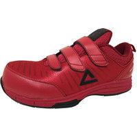 安全靴/セーフティシューズ ピーク PEAK SAFETY WOK-4506 レッド 25.5cm(直送品)