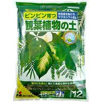 花ごころ 観葉植物の土 12L 1セット(4個入)(直送品)