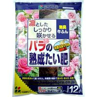 花ごころ バラの熟成たい肥 12L 1セット(4個入)(直送品)