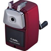 カール事務器 鉛筆削り エンゼル5 プレミアム レッド A5PR-R 1個