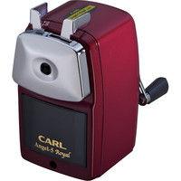 カール事務器 鉛筆削り エンゼル5 ロイヤル レッド A5RY-R(直送品)