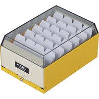 カール事務器 カードファイルケース イエロー 名刺収容400枚 CFC-400-Y 3個(直送品)