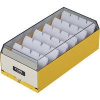 カール事務器 カードファイルケース イエロー 名刺収容600枚 CFC-600-Y 2個(直送品)