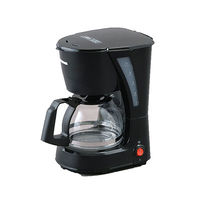 アイリスオーヤマ コーヒーメーカー 黒 CMK-652-B ドリップ式 5杯用 ナイロンフィルター