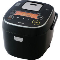 アイリスオーヤマ IHジャー炊飯器 黒 RC-IE10-B 10合炊き 米屋の旨み 銘柄炊き