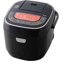 アイリスオーヤマ マイコン式ジャー炊飯器 黒 RC-MC10-B 10合炊き 米屋の旨み 銘柄炊き