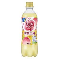 アサヒ飲料 カルピスソーダ 完熟白桃 500ml 1セット(48本)